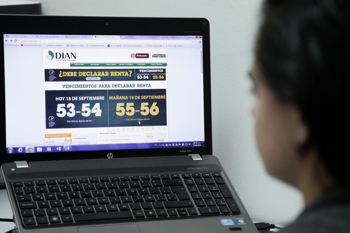 Colombianos En El Exterior Pueden Presentar Su Declaraci N De Renta A Trav S De Internet